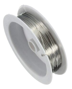 gear wire silver_