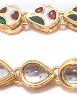 kundan chain for jewellery making