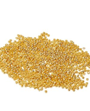 crimp beads golden
