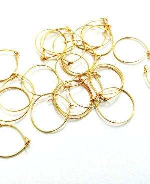earring making hoops wire
