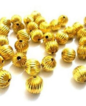 golden spacer beads